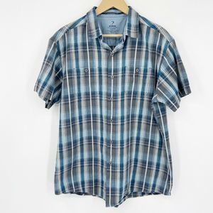 Kuhl Skorpio Tapered Fit Button Shirt Linen Blend